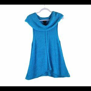 Pure HandKnit Sleeveless Sweater